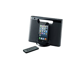 Sony RDPM7IPN Lightning iPhone/iPod Portable Speaker Dock (Black)