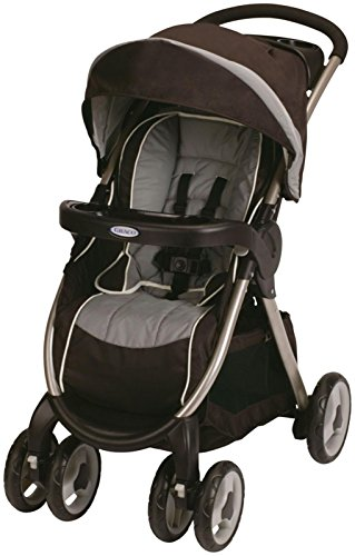 Graco Fastaction Fold Click Connect Stroller - Coco front-8542
