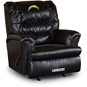 NFL San Diego Chargers Big Daddy Leather Recliner by Imperial