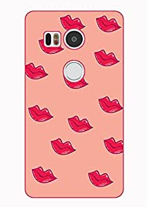 Happoz Google Nexus 5X Cases Back Cover Mobile Pouches Shell Hard Plastic Graphic Armour Premium Printed Designer Cartoon Girl 3D Funky Fancy Slim Graffiti Imported Cute Colurful Stylish Boys D283