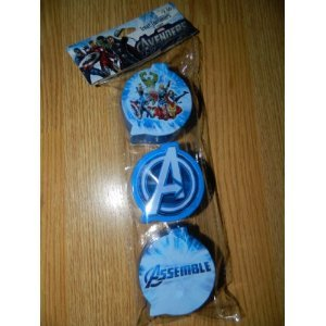 Marvel the AVENGERS Treat Containers Party Favors - pack of 3 - 1