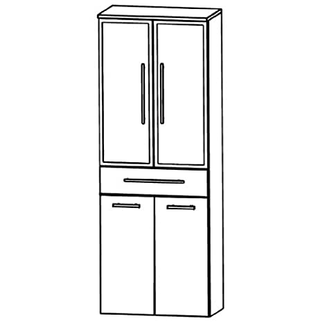 Perfect Swing High Cabinet (HNA05 6B7 W) Bathroom, 60 cm