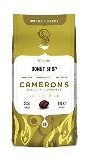 Cameron's Whole Bean Coffee, Donut Shop Blend, 32 Ounce by Cameron's Coffee (Donut Shop Whole Bean Coffee compare prices)