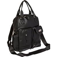 Access Denied BooPeeDo Backpack Diaper Bag + RFID Blocking Pocket (Black)