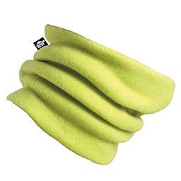 Turtle Fur Original Turtle Fur Fleece Kids Turtle's Neck, Double-Layer Fleece Neck Warmer, Monster Green