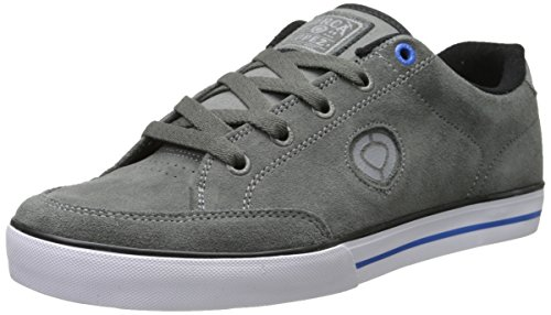C1RCA AL50 Slim Skate Shoe, Dark Gull/Regal Blue, 7 M US