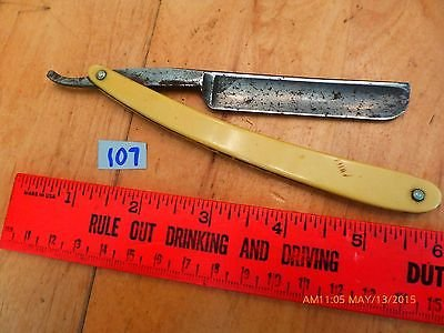 vintage straight razor barber antique White King ShurEdge Robeson Rochester NY 2