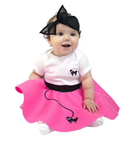 hip hop 50s shop infant poodle skirt 2 piece costume set