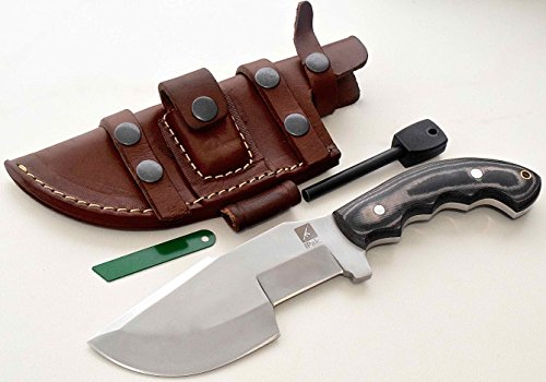 CFK Cutlery Company IPAK USA BULLDOG CHOPPER TRACKER II Custom Handmade D2 Tool Steel Micarta Tactical Hunting Bushcraft Knife &