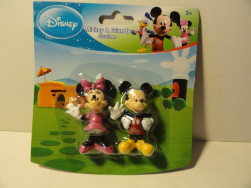 Mickey & Friends Figurines or Cake Toppers - Mickey and Minnie