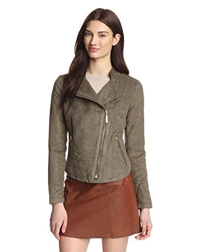 Kensie Women's Faux Suede Jacket