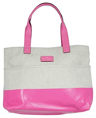 Kate Spade Shady Side Magazine Tote Handbag Gulabi Pink