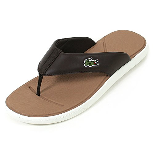 Lacoste L.3 116 2 Mens Synthetic Sandals Brown - 40.5 EU