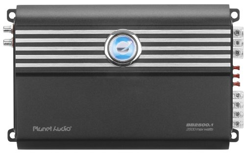 Planet Audio Bb2500.1 Big Bang 3 2500-Watts Monoblock Class D 1 Channel 1 Ohm Stable Amplifier