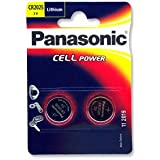 LINDY CR2025 Battery (2 pack) - Panasonic Lithium Coin Cell 3V