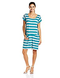 Roxy Women's A-Line Dress (ARJKD03076_Multicolor_S)