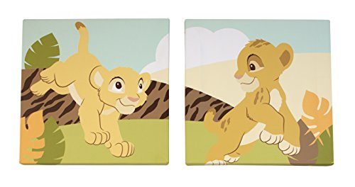Disney Lion King Wall Art, 2 Count
