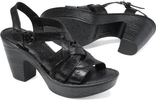 Born Womens Catarina Platform Black Size 7