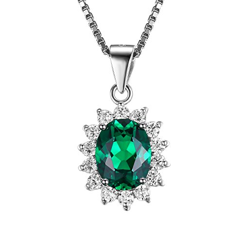 jewelrypalace-kate-middletons-princess-diana-2ct-created-nano-emerald-925-sterling-silver-pendant-ne