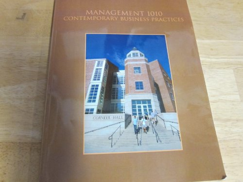 Management 1010 Custom Book