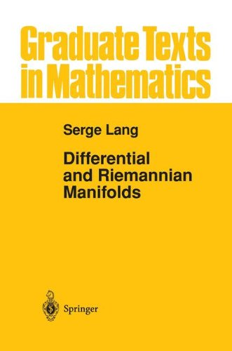 Differential and Riemannian Manifolds (Graduate Texts in Mathematics)