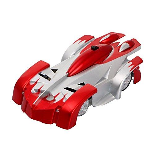 SZJJX-Spiderman-Wall-Climber-Climbing-RC-Car-Home-Vehicle-Radio-Control-Mini-Zero-Gravity-Remote-Control-Car-Kids-Electric-Toy-RC-Vehicle-Stunt-Car-Red