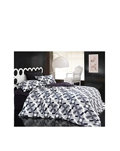 Cotton Box Beren Satin Queen Duvet Set