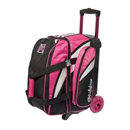 kr-strikeforce-cruiser-smooth-double-roller-bag-pink-white-black