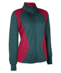 CLEARANCE - Russell Athletic Women's Tech Fleece Full Zip Cadet
