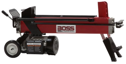 Best Price Boss Industrial EC5T20 Electric Log Splitter, 5 Ton