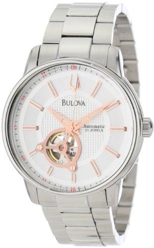 Bulova-Mens-96A143-Bulova-Series-160-Mechanical-Watch