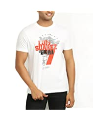 642 Stitches Men's Round Neck Cotton Luis Suarez T-Shirt