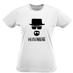 Heisenberg Tshirt Walter White Jessie Pinkman Inspired by Breaking Bad Womens Slim Fit Xsmall - XXLarge Multiple Colours