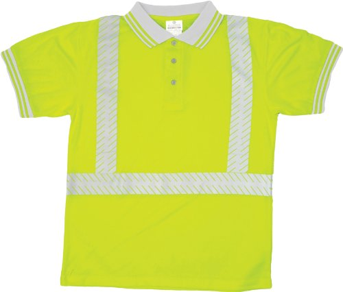 Ml kishigo 9108 polyester class 2 polo shirt 5x large for Mens 5x polo shirts