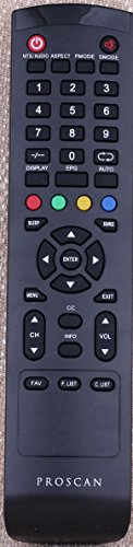 GENUINE Remote Control FOR PROSCAN TV PLDED327A PLDED3273A PLDED3273A-B PLDED5068A (Proscan Remotes compare prices)