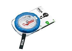Silva Kompass Compass Field 1-2-3, Transparent, One size, 30-0000036987