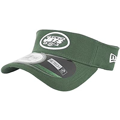 New York Jets NFL Onfield Adjustable Visor by New Era (Green-White)