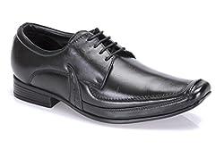 BellBut Black Men Formal Shoes(501)