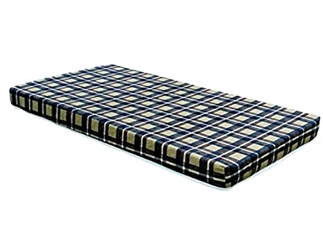 New Twin Size Bunk Bed 5 Inch Mattress with Organic cotton stretch knit quilted cover - Made in USA