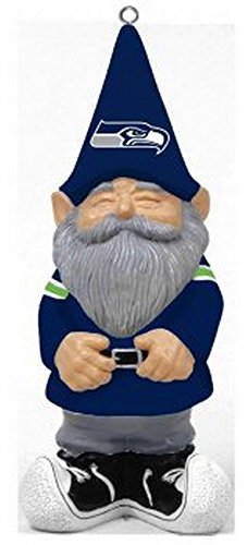 NFL Licensed Seattle Seahawks Team Gnome Ornament (Super Bowl Champions Winter Hat compare prices)