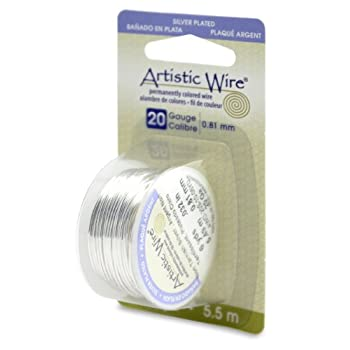 Set A Shopping Price Drop Alert For Artistic Wire 20-GaugeTarnish Resistant Silver Wire, 6-Yard