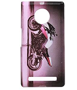 Exclusive Rubberised Silicon Back Case Cover for Yu Yuphoria YU5010 - Rider Bike