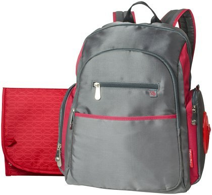 Fisher Price Sporty Backpack - Grey/Red