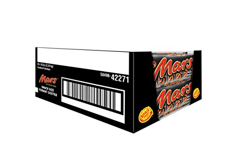Mars Chocolate 6 Snack Sizes 93.6g, 24-Count