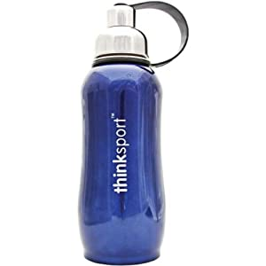 Thinksport Ss Bottle 750ml-blu SB9750BLUE