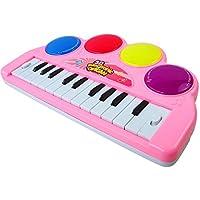 Electronic Organ,Yifan Baby Keyboard Piano 3 D Electronic Organ Music Toy Piano With Flash Light Kids Children...