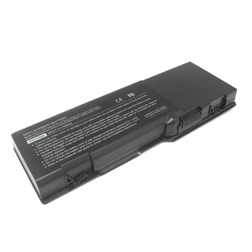 EPC 11.1v, 4800mah,6 Cells, Li-ion, Maker New Replacement Laptop Battery for Dell Inspiron 1501, Inspiron 6400, Inspiron E1505, Latitude 131l, Vostro 1000