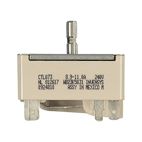 Genuine OEM WB23K5031 2400 W GE Kenmore Hotpoint Range Stove Switch New! (Ge Jp201cbss compare prices)