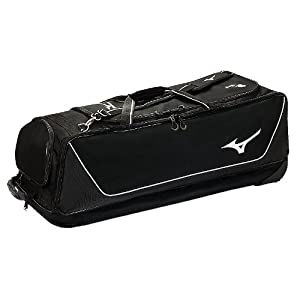 Mizuno MP Elite Baseball Softball Large Wheel Bag by Mizuno