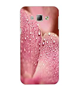 SAMSUNG GALAXY A8 WATERDROPS Back Cover by PRINTSWAG